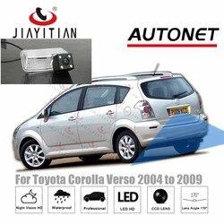 Jiayitian kamera tylna do Toyota Corolla Verso 2004 2005 2006 2007 2008 2009 CCD dodatkowa kamera cofania licencja kamera na tablicę rejestracyjną