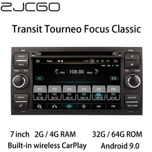 Car Multimedia Player Stereo GPS DVD Radio Navigation Android Screen for Ford Transit Tourneo Focus Classic MK2 MK6 2000~2014 for mercedes benz c class w205 2015 2019 ntg original style multimedia player hd screen stereo android car gps navi map radio