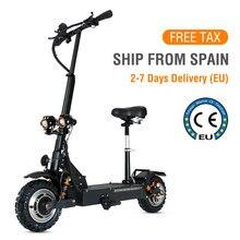 Adultes électriques de Scooter de la Certification 85 km/h de la CE de l'ue Max. Kilométrage 90km planche à roulettes électrique 3200W double scooter de moteur tout-terrain