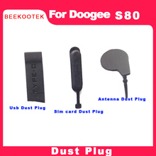 Sim-Card-Tray Doogee Phone USB for S80 Rubber-Stopper Antenna Dust-Proof-Port Original
