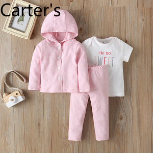 Carter 3pcs One Year Birthday Girl Babykleding Ubrania Dla Niemowlaka Recem Nascido Menina Babygirl Clothes Vestiti Bimba pink