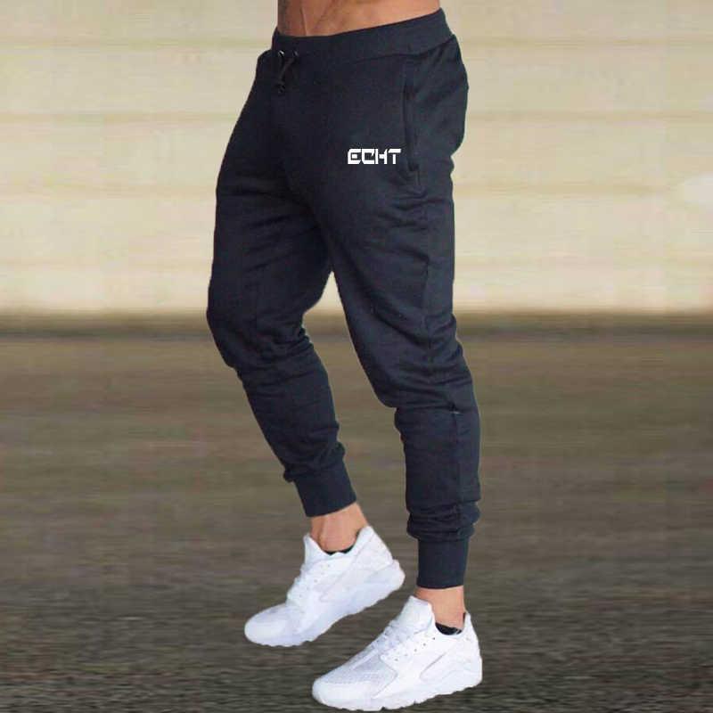 2020 Pria Lari Santai Celana Fitness Pria Olahraga Bawahan Kurus Celana Olahraga Celana Hitam Gym Jogger Celana Pendek