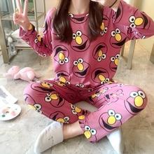 Wholesale Pajamas Sets Spring Autumn 2020 New Thin Carton Ge