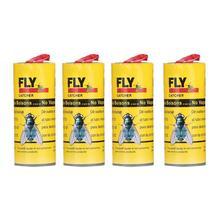 Silny lepki papier muchowy przyjazny dla środowiska mucha mucha mucha lepki niedrogi rolka papieru przyklejane naklejki Stick I3F5 tanie tanio KITPIPI Muchy NO VAPORS