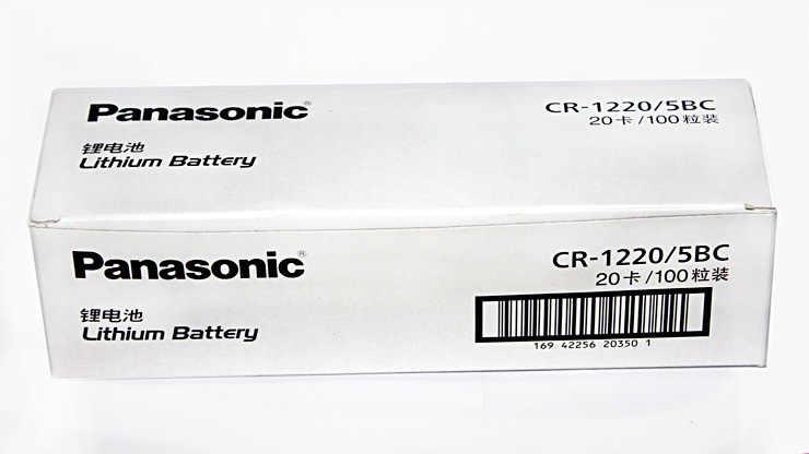 20 Cái/lốc Panasonic CR1220 Tế Bào Nút Pin CR 1220 3V Lithium Đồng Xu Pin BR1220 DL1220 ECR1220 LM1220 Cho Đồng Hồ máy Tính