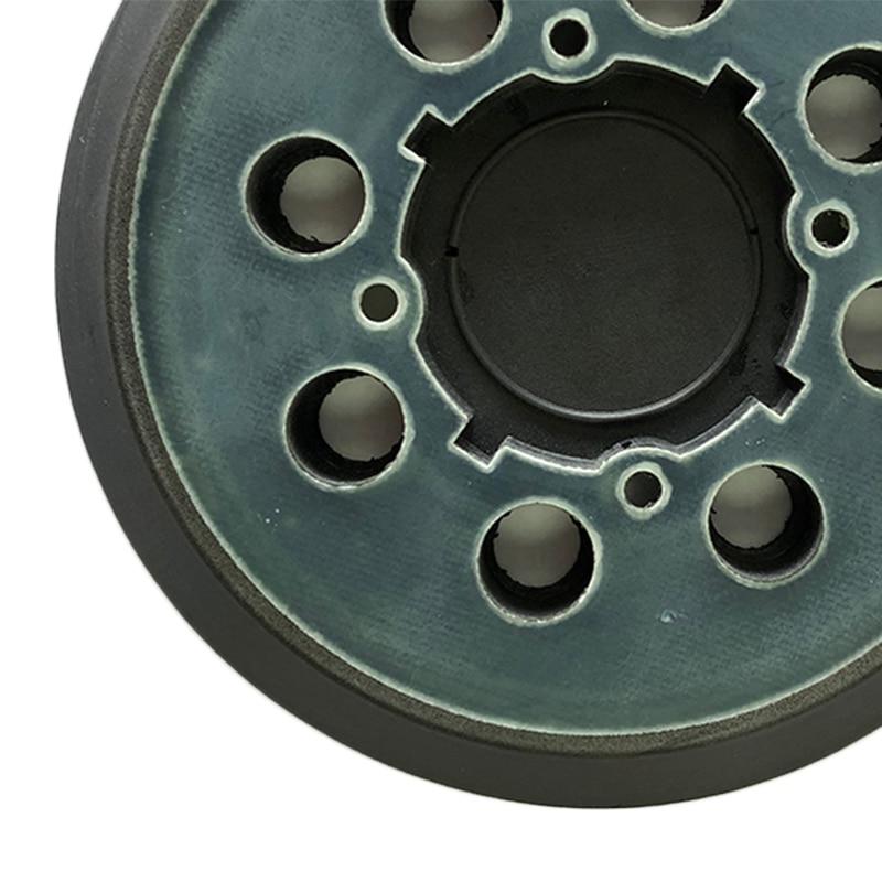 para Makita BO5021K Sander BO5010 duraderos 8 orificios 3 unidades de discos de lijado Makita con velcro 125 mm