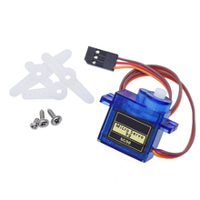 цена на SG90 9G Micro Servo Motor For RC Robot Helicopter Airplane Car Boat SG90 Servo for Drone
