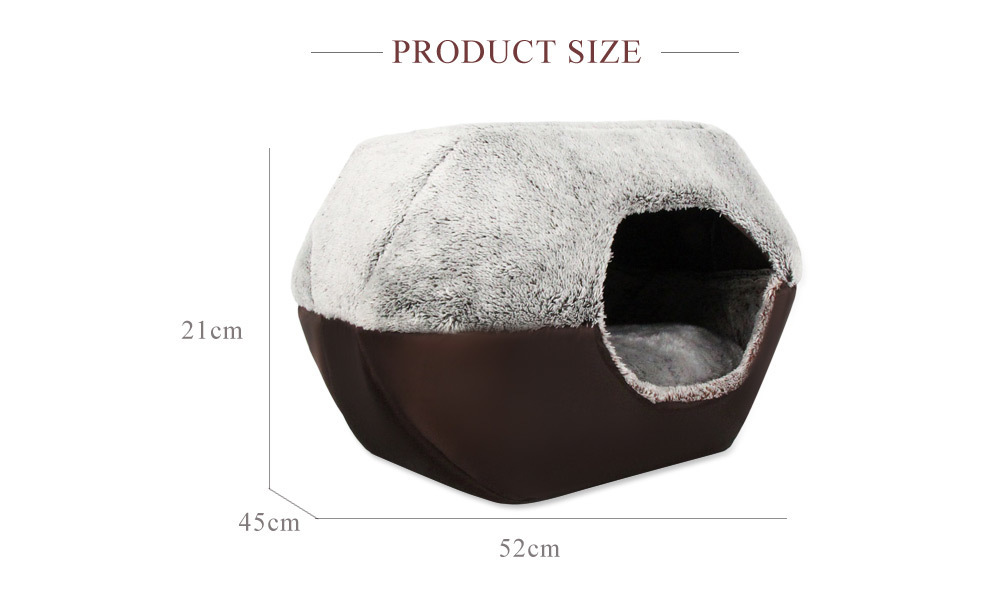 2 Colors Paw Pet Sofa Dog Beds Waterproof Bottom Soft Fleece Warm Cat Bed House Petshop Cama Perro 11