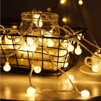 2/3/6/10m Mini Ball Shape LED String Lights Christmas Tree Lamp Home Decoration Wedding Party Supplies image