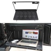 Car Tailgate Table Rear Foldable Back Shelf Storage Bracket for Jeep Wrangler JK JKU JL JLU 2007-2019 2020 Rubicon Sports Sahara