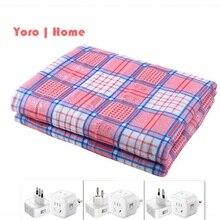 Электрическое одеяло более плотный обогреватель для одиночного и двойного человека термостат Электрический матрац мягкое электрическое подогреваемое одеяло йороо