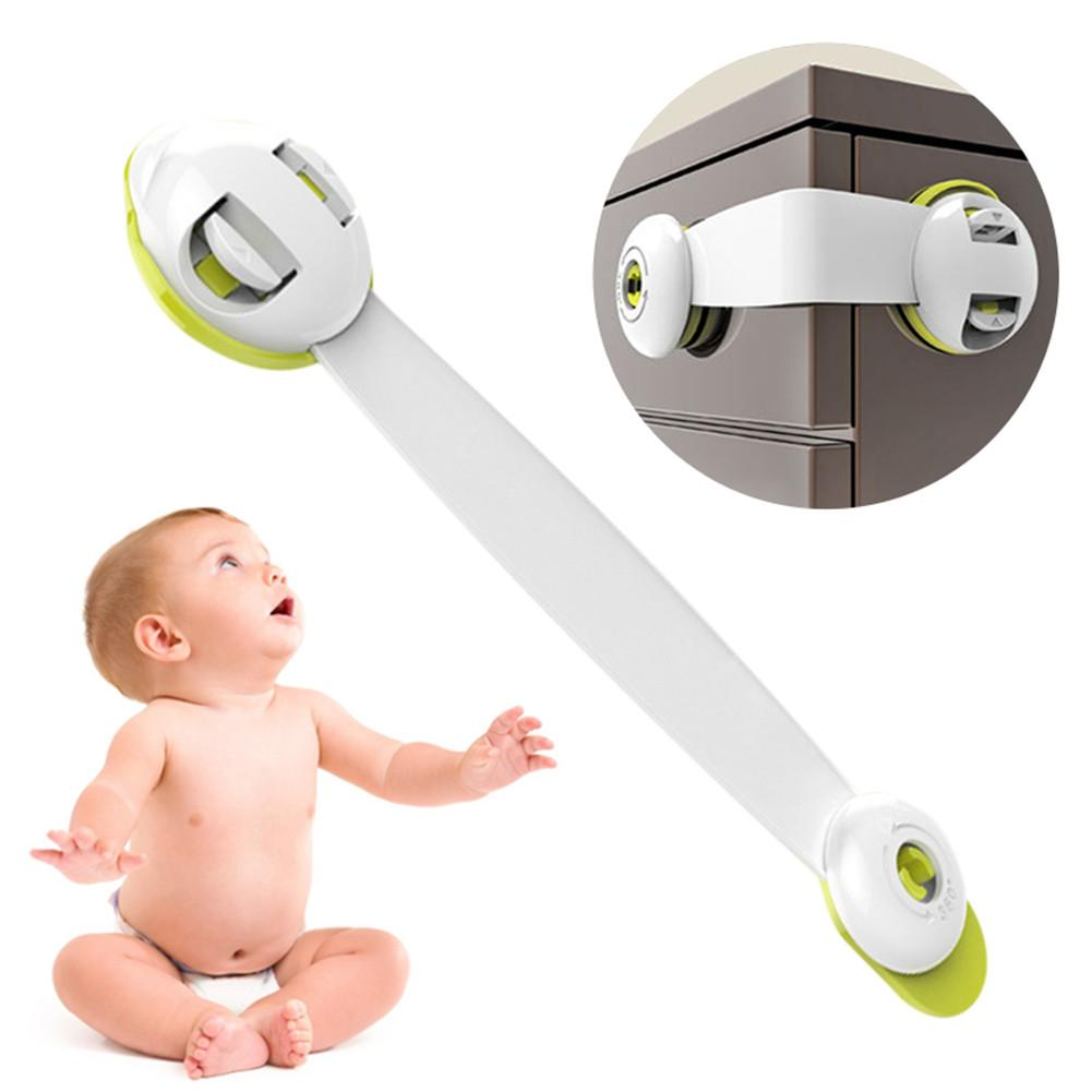 1PCS Multi-use Baby Drawer Lock Plastic Child Security For Cabinet Refrigerator Window Closet Protect Toddler Safety Protector