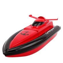 EU Type Children'S Electric Speedboat Toy Model Mini Waterproof Remote Control Boat High-Speed Water Travel Boat