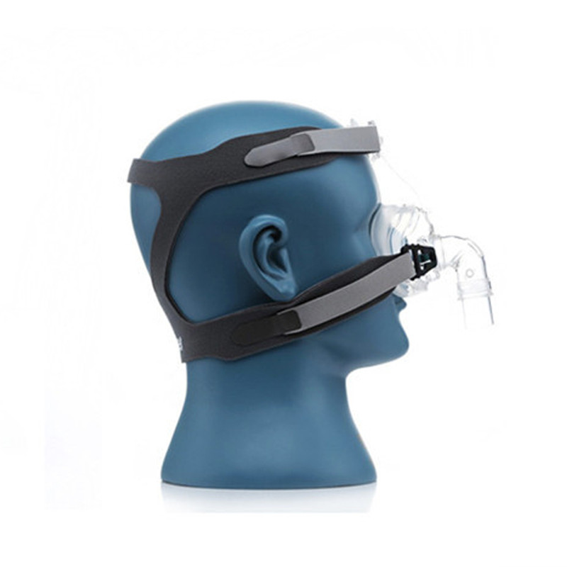 Full Face CPAP Mask Auto with Adjustable Headgear Strap Clip for Sleep Apnea Patient 25