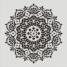 30 * см DIY ремесло плесень мандалы для росписи по дереву, скрап альбом искусства стены тиснение украшения тиснение бумаги карты