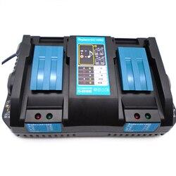 NIEUWE 18V DC18RD 4.5A Dubbele power tool batterij oplader voor Makita BL1830  BL1835  LXT400