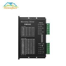 цена на Free Shipping DM542 Stepper Motor Controller 2-phase Digital Stepper Motor Driver 18-48 VDC Max. 4.2A