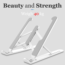 Notebook-Stand Laptop-Holder Desktop Adjustable Macbook iPad Pro for Air DELL Non-Slip