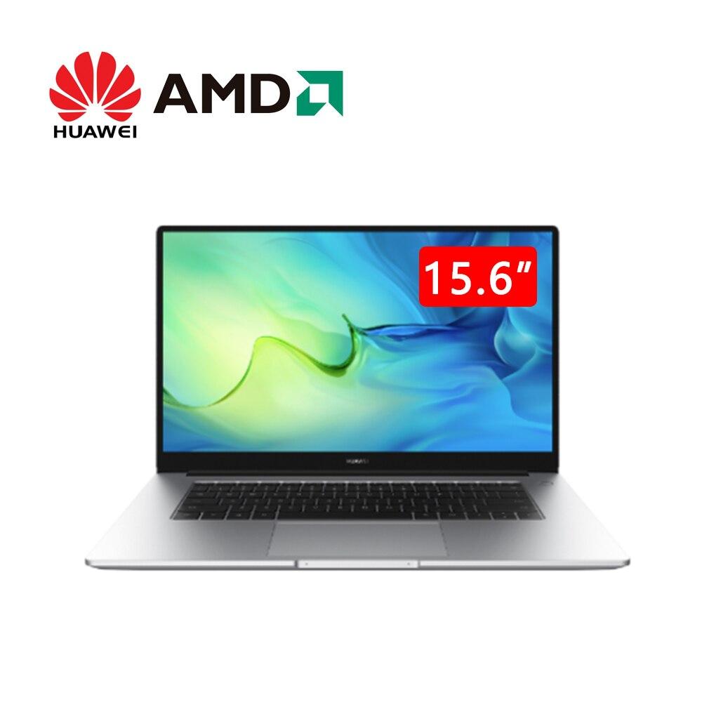 HUAWEI MateBook D 15 2020 Ryzen 7 4700U 16GB 512G NVMe SSD ноутбук 15,6 ноутбука большой объем памяти также портативная Быстрая зарядка