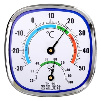 Analog Thermometer Hygrometer Temperature Monitor Humidity Gauge Indoor Outdoor R9JC 1