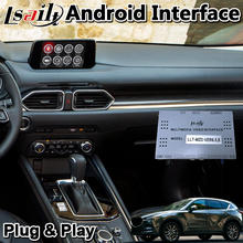Lsailt Android Navigation Video Interface für Mazda CX-5 2016-2020 jahr mit wireless carplay android auto adas MZD system