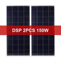 Dokio 2pcs 150w High Efficiency Home Solar Panel 25 Years Life 300W 600w 900w Home Solar System