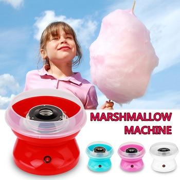 Portable Electric DIY Sweet Sugar Cotton Mini floss Home Party Marshmallow Candy Maker Portable Marshmallow Sugar Floss Machine цена 2017