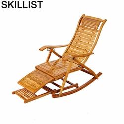 Kanapa z funkcją spania Fotel Divano Rocking Sillones Moderno Para Sala Bamboo Sillon Fotel rozkładany Cama Plegable Fauteuil Salon Fotel rozkładany Leżanka Meble -