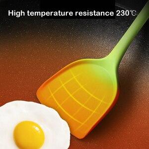 Image 4 - 5/10/11個耐熱シリコーン調理器具セットテフロン加工調理ツールキッチンベーキングツールキット道具キッチンアクセサリー
