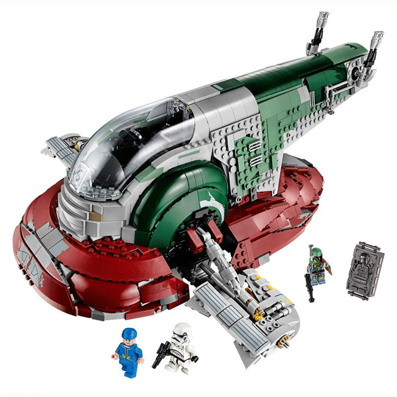2067Pcs <font><b>05037</b></font> The Genuine UCS Slave I Slave NO.1 Mobile Building Block Bricks Toys Star Wars Movie 75060 toys for kids gifts image