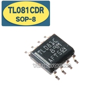 10PCS TL081CDR SOP8 TL081C SOP TL081 SOP-8 081C SMD new and original IC