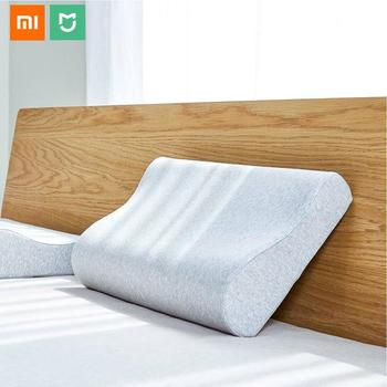 Original Xiaomi Mijia Neck Protection Pillow Full Antibacterial 4 Seasons Memory Cotton Pillow for Sleeping Relaxation Pillows