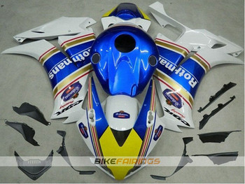 New ABS Injection Mold aftermarket Motorcycle Fairings Kit Fit For Honda CBR1000RR 2012 2013 2014 2015 bodywork blue white