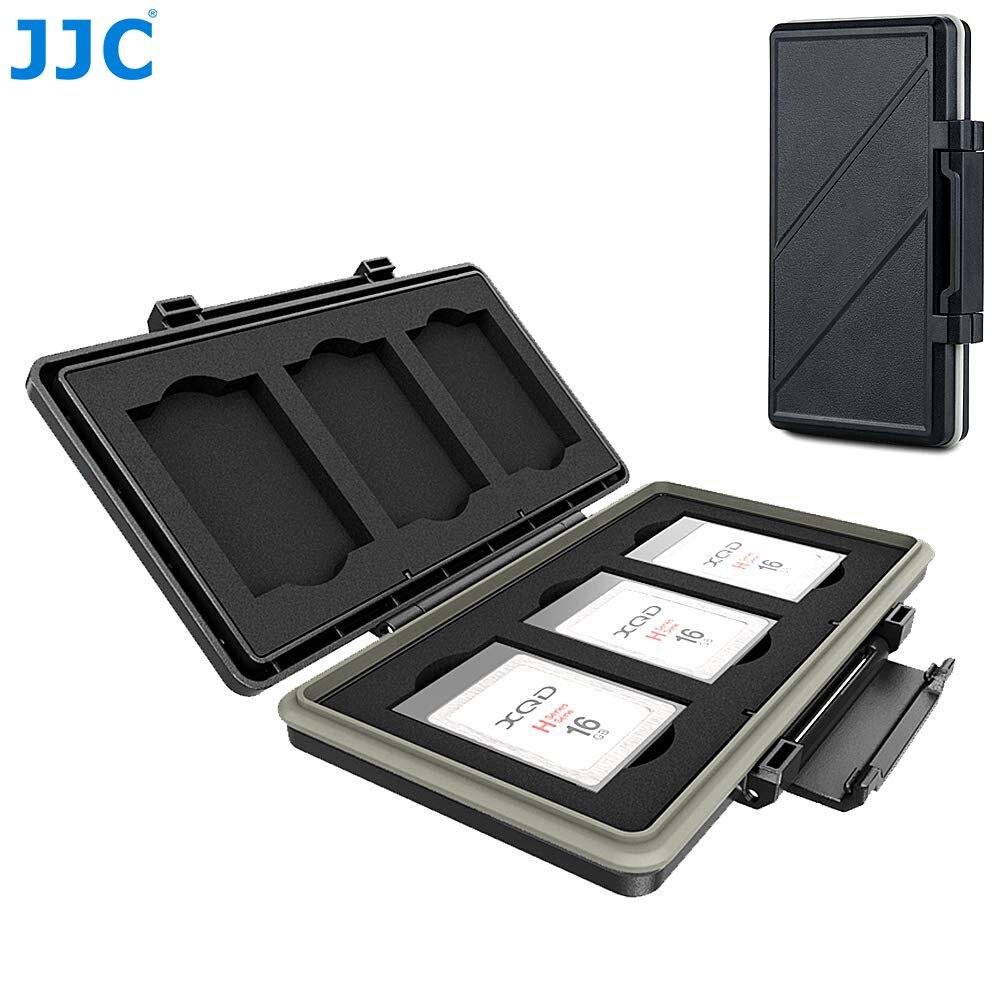 JJC 6 Slots XQD Card Holder Case Box XQD Memory Card Storage Protector For Nikon Z6 Z7 D850 D500 D5 D4S D4 Camera