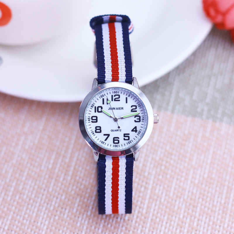 Fashion Boys Girls Students Luminous Hands Quartz Sports Wristwatch Little Kids Children Waterproof Digital Electronic Watches