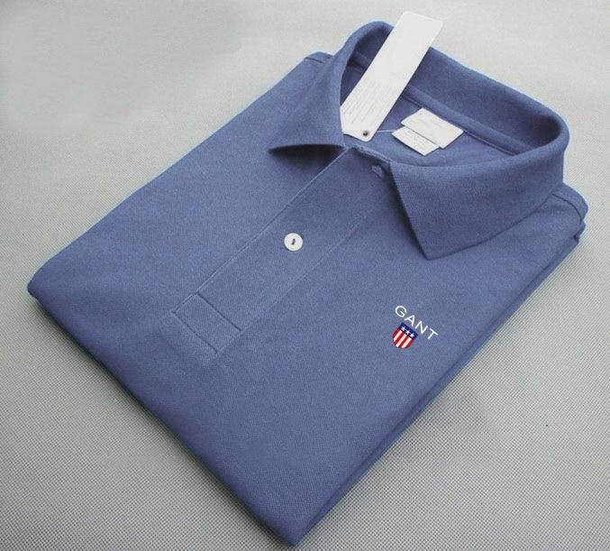 New polo shirt short-sleeved summer handsome shirt tide brand fashion men's polo shirt men's top clothes