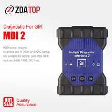 MDI1 in Neue MDI2 Gehäuse MDI Mehrere Diagnose Interface MDI USB WIFI Multi Sprache Scanner Software GDS2 Tech2Win V 2020,3