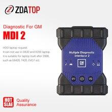 MDI1 w nowej obudowie MDI2 MDI wielokrotny interfejs diagnostyczny MDI USB WIFI wielojęzyczne oprogramowanie skanera GDS2 Tech2Win V2020.3