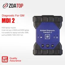 새로운 MDI2 하우징의 MDI1 MDI 다중 진단 인터페이스 MDI USB WIFI 다국어 스캐너 소프트웨어 GDS2 Tech2Win V2020.3