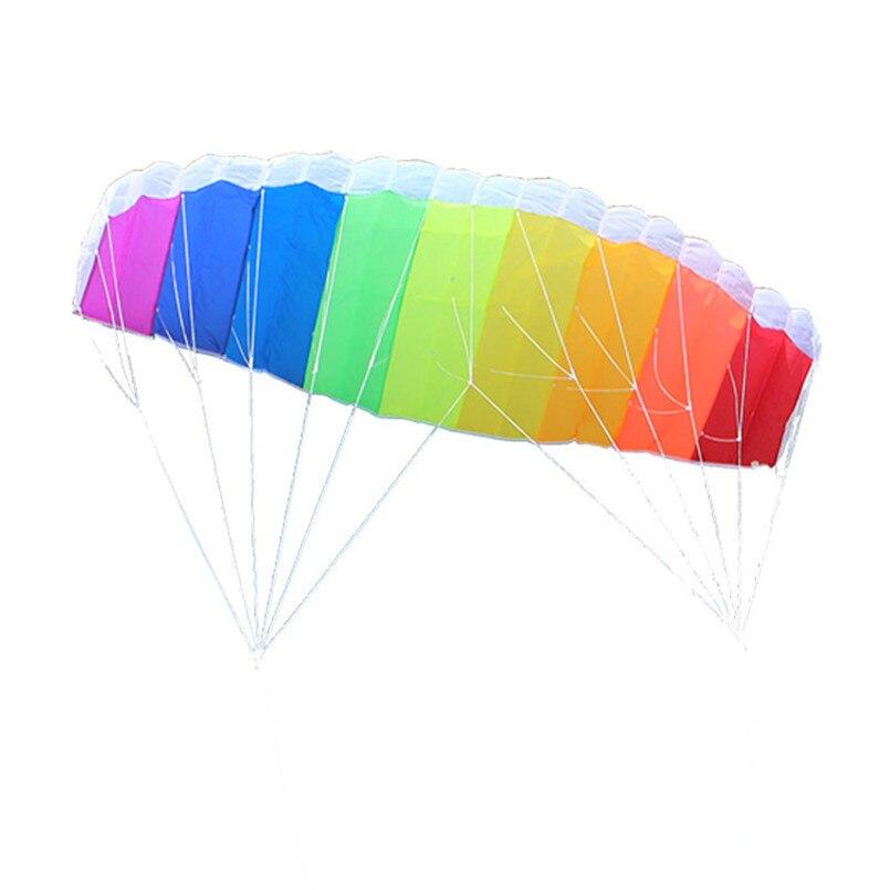 1-4-Meter-Dual-Line-Parachute-Rainbow-Kite-Parafoil-Sports-Software-Paragliding-Nylon-Beach-Stunt-Kites (1)