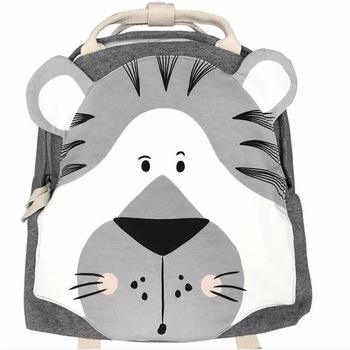 Ins Estilo nórdico animales de dibujos animados de la serie mochila de los niños de la escuela, bolso de escuela de peluche bebé mochila conejo mariposa Koala Tigre
