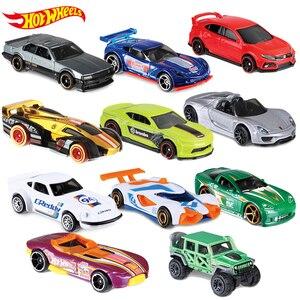Image 5 - 5 adet 72 adet/kutu sıcak tekerlekler araba Model oyuncaklar çocuklar için Diecast Metal plastik Hotwheels Brinquedo sıcak çocuk oyuncakları çocuklar için kamyon seti