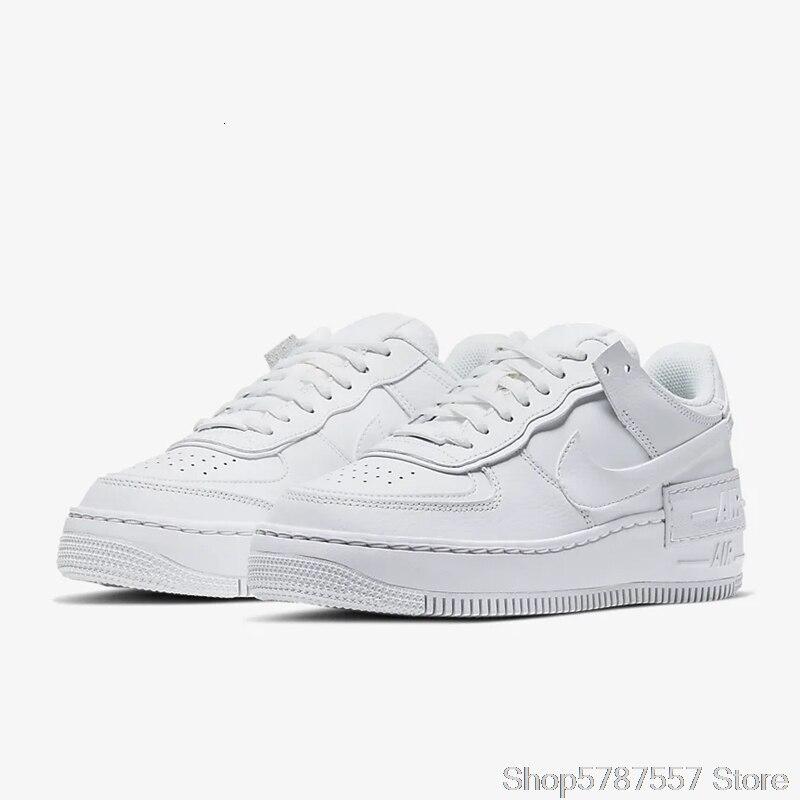 Nike Air Force 1 Shadow zapatos de Skateboarding para mujeres, zapatillas deportivas al aire libre, CI0919-003 Ins recomendados 100% recién llegados originales - 6