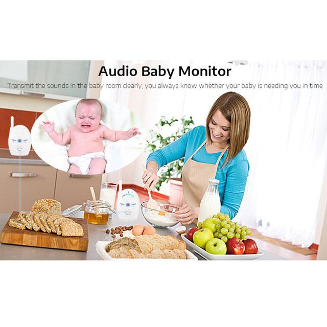 Wireless Baby Monitor 2.4GHz