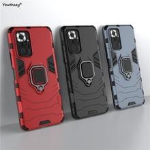 Dành Cho Xiaomi POCO M3 Pro Ốp Lưng Ốp Lưng Bảo Vệ Cho Xiaomi POCO M3 Pro Dẻo Silicone Giáp Nhẫn Bao POCO m3 Pro
