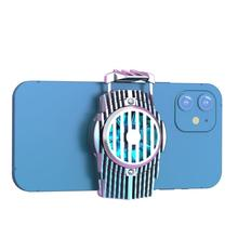 Fan Cooler-Holder Radiator Refrigeration Phone Semiconductor Mobile-Phone-Cooling Mute