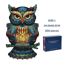 Unique 3D Wooden Puzzle Mysterious Animal Puzzles Boutique Gift Box Packaging Gift For Adult Kids Fabulous Montessori Toys Gift cheap SONGYI Unisex 3D PUZZLE H21031001 Do not eat Grownups 6 years old 8 years old 3 years old Wooden puzzles Wood DIY Package