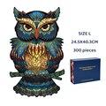 Einzigartige 3D Holz Puzzle Mysterious Tier Puzzles Boutique Geschenk Box Verpackung Geschenk Für Erwachsene Kinder Fabulous Montessori Spielzeug Geschenk