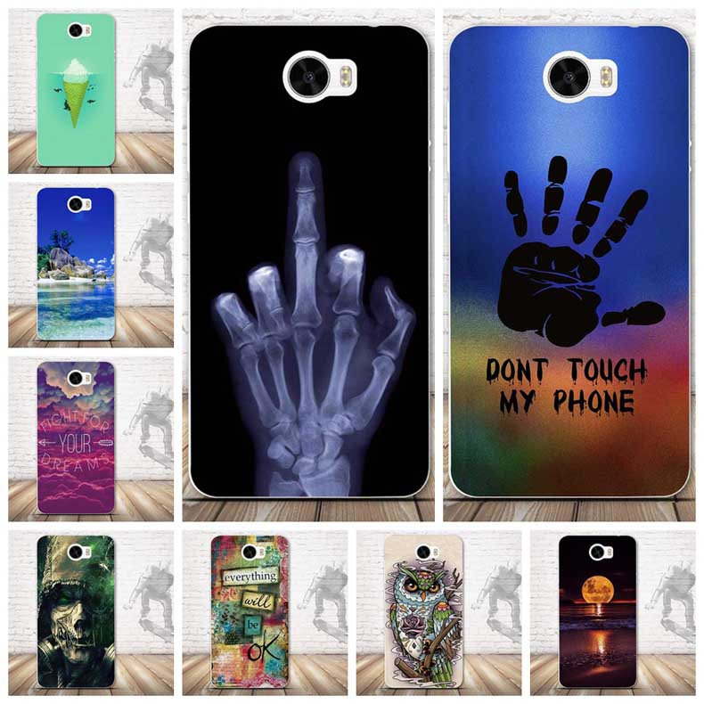 For Coque Huawei Y5 II Case Cover Protective Back Silicone Soft TPU Case For Huawei Y5 II Y5 2 Y5II /Honor 5A LYO-L21 Funda Capa