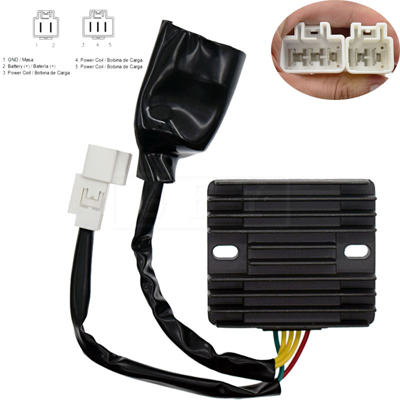 For <font><b>HONDA</b></font> NT700 2006 2007 2008 2009 2010 NT 700 Motorcycle Voltage Regulator Rectifier 12V VTX1300 <font><b>CBF1000</b></font> CBR600RR CBR1000R image
